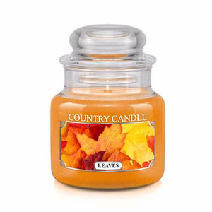 Leaves Small Jar Candle