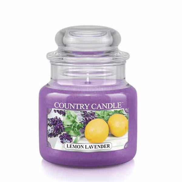 Lemon Lavender Small Jar Candle