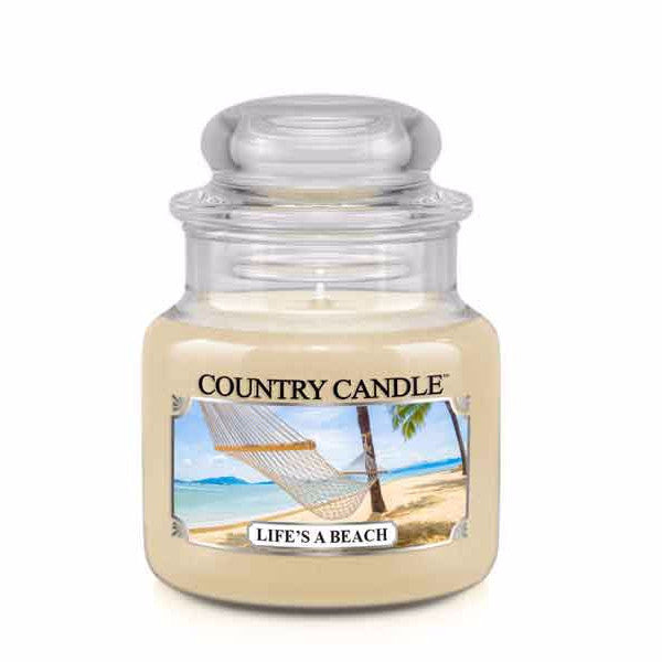 Life's a Beach Small Jar Candle