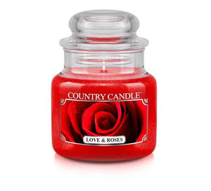 Love & Roses Small Jar Candle