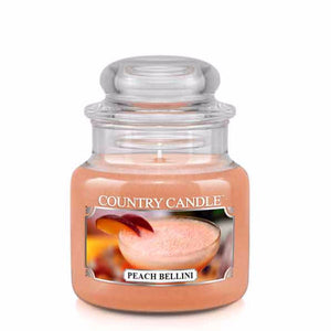 Peach Bellini Small Jar Candle