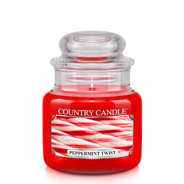 Peppermint Twist Small Jar Candle