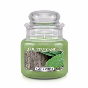 Sage & Cedar Small Jar Candle