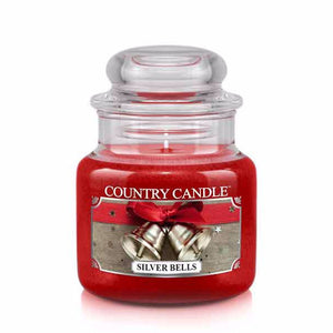 Silver Bells Small Jar Candle