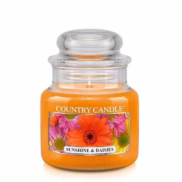 Sunshine & Daises Small Jar Candle