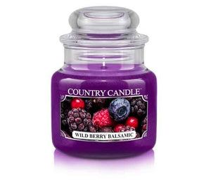 Wild Berry Balsamic Small Jar Candle