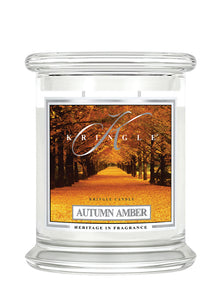 Autumn Amber Medium Classic Jar