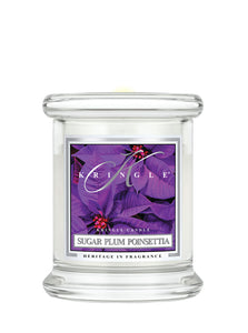 Sugar Plum Poinsettia Mini Classic Jar