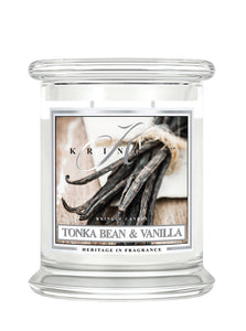 Tonka Bean & Vanilla Medium Classic Jar