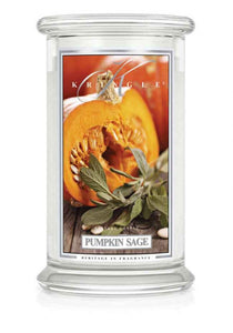 Pumpkin Sage large jar Kringle candle