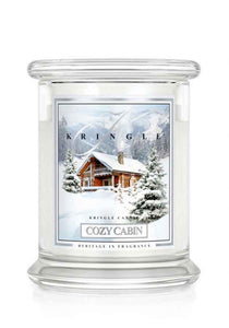 Cozy Cabin  Medium Classic Jar