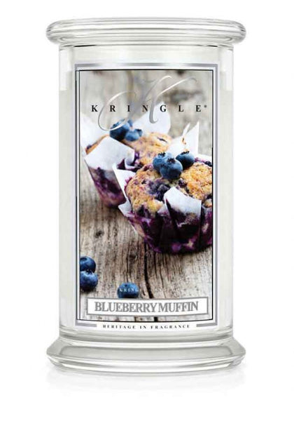 Blueberry Muffin Large Jar Kringle Candle