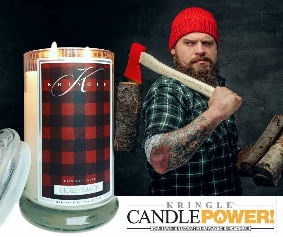 LUMBERJACK Large Jar Kringle Candle