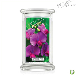 Sweet Pea Medium Candle Jar