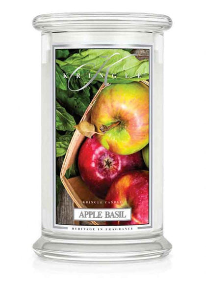 Apple Basil  Large Jar  Kringle Candle