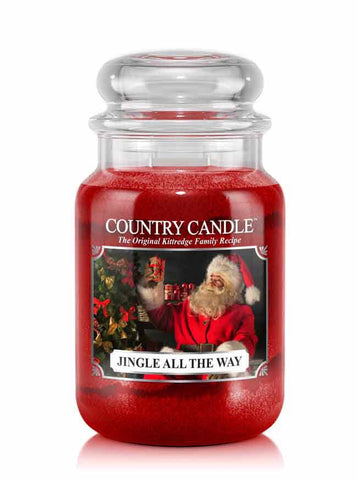 Jingle All The Way   Large Jar Candle