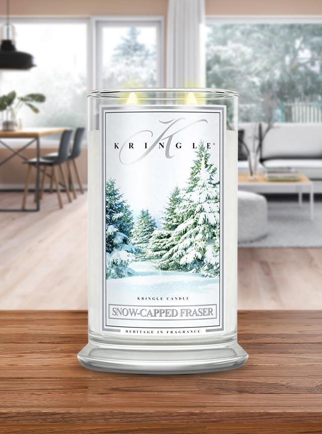 Snow Capped Fraser Large Classic Jar