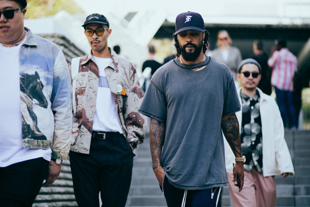Jerry Lorenzo and Tyga Show out on Day 3 of Paris Fashion Week
