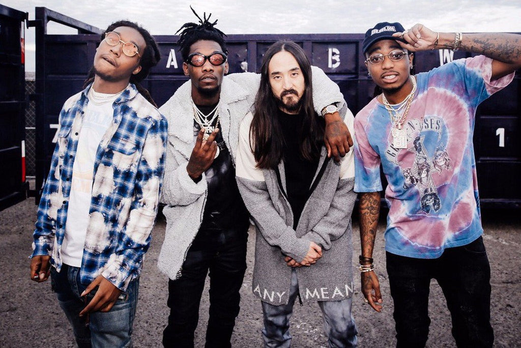 "Listen to Steve Aoki, Migos & Lil Yachty's ""Night Call"""