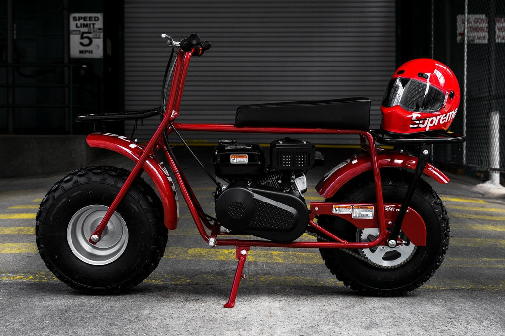 A Closer Look at the Supreme x Coleman CT200U Mini Bike Releasing Tomorrow