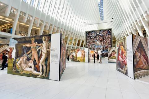 'Up Close: Michelangelo's Sistine Chapel' Brings the Renaissance to Oculus
