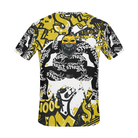 All Over Print T-Shirt For Men - Bad Sumo Tee