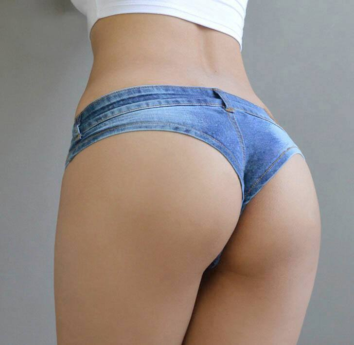 Sexy Ass In Short Shorts