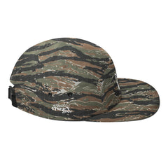 Camo Thug Life Five Panel Cap