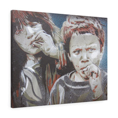 Brother&Sister Canvas Print