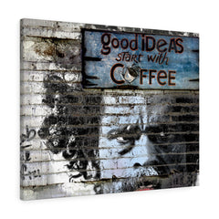 Good Ideas Start with Coffee Print