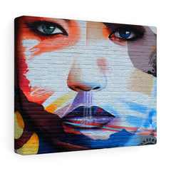 Graffiti Face Wall Print