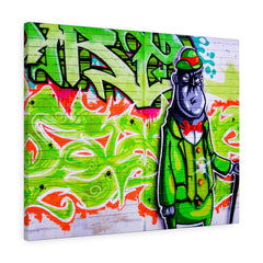 Green Graffiti Creature