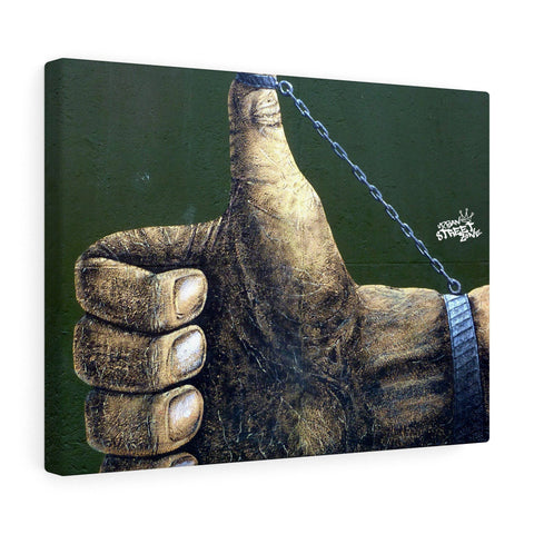 Canvas - Thumbs Up Print