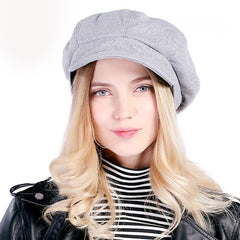 Hat - Ladies Fedora Berets Hat