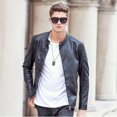 Jacket - BOSS Motorcycle Leather Jacket