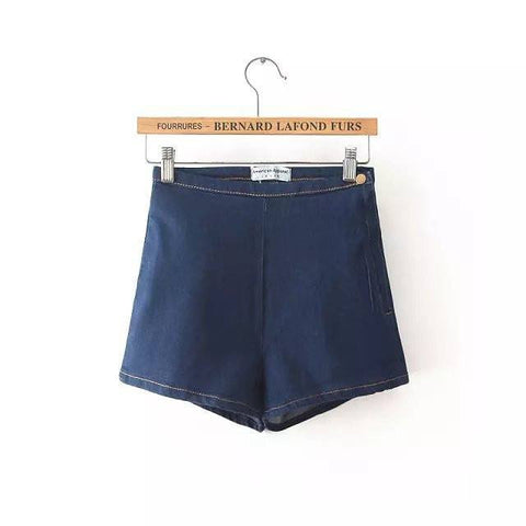 Jeans - GOPLUS High Waisted Denim Shorts