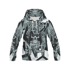 Men's All Over Print Hoodie - Fresh To Death Hoodie