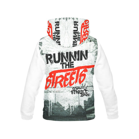 Men's All Over Print Hoodie - Runnin The Streets Hoodie