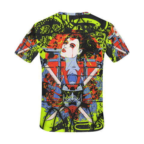 Men's All Over Print T-Shirt - Sweet Blade Tee