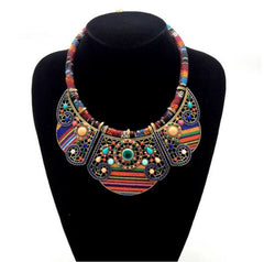 Necklace - Bohemian Tribal Necklace