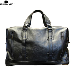 Fashion Men's Leather Travel Bag