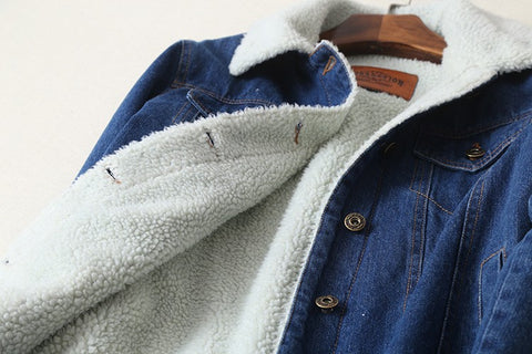 Urban Jean Jacket w/ Lambswool