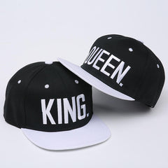 King & Queen Caps (set)