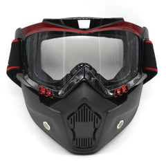 New Detachable Motocross Goggle System