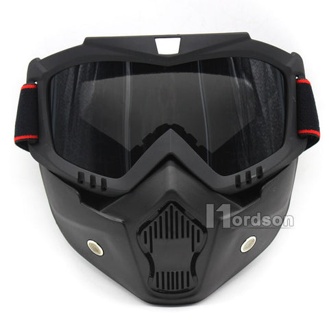 New Detachable Motocross Goggle System - Urban Street Zone1