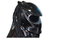 New Carbon Fiber Predator Motorcycle Helmet