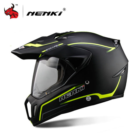 NENKI Full Face Motorcycle Riding Helmet 2 colors