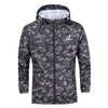 Image of Mens Waterproof Camouflage Hoodie Jacket