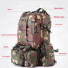 Image of Camo Combo Tactical Backpack