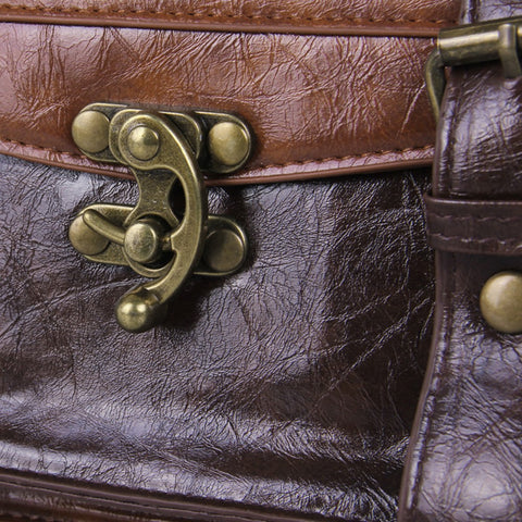 Antique Classic Leather Leisure Satchel